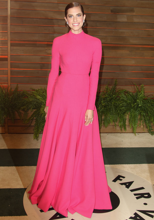 Allison Williams at the 2014 Vanity Fair Oscar Party in West Hollywood, 2 March 2014