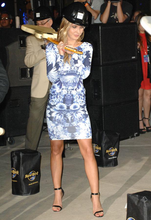Audrina Patridge, Hard Rock Hotel Grand Opening in Palm Springs, California, America - 06 Mar 2014