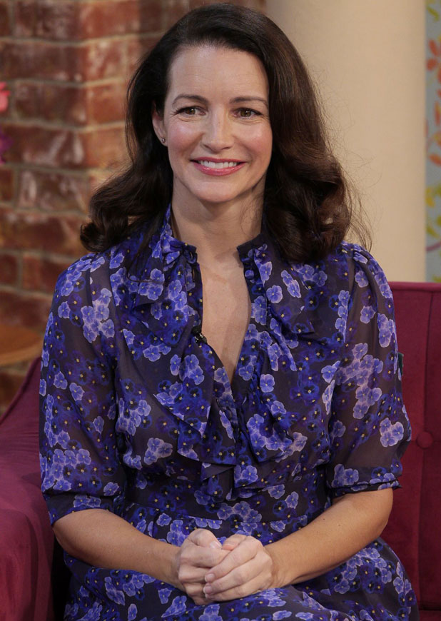 Kristin Davis, This Morning' TV Programme, London, Britain - 06 Mar 2014