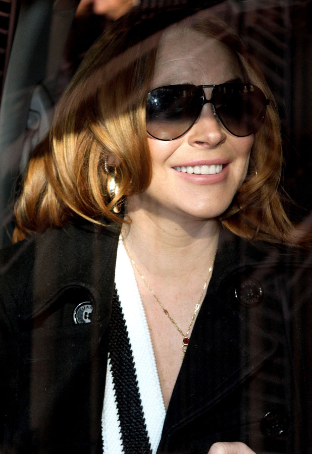 Lindsay Lohan out and about, New York, America - 06 Mar 2014