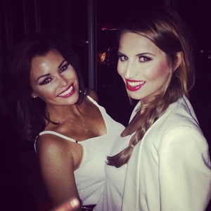 TOWIE's Jessica Wright parties with Ferne McCann in London (8 March 2014).