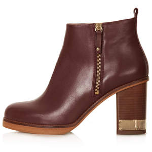 Topshop All Ours Zip Side Boots, £80