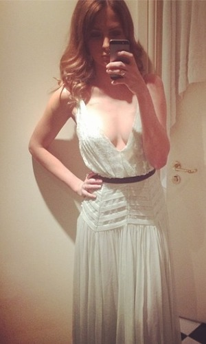 Millie Mackintosh chooses her dress for a date night