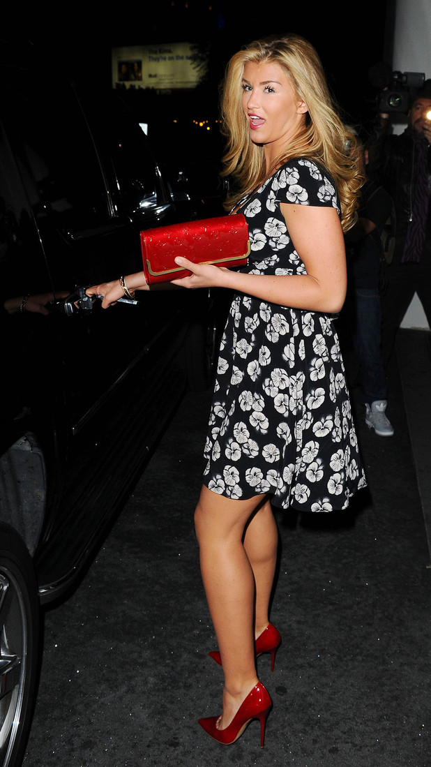 Celebrities at the Mondrian Hotel, Los Angeles, America - 10 Mar 2014 Amy Willerton