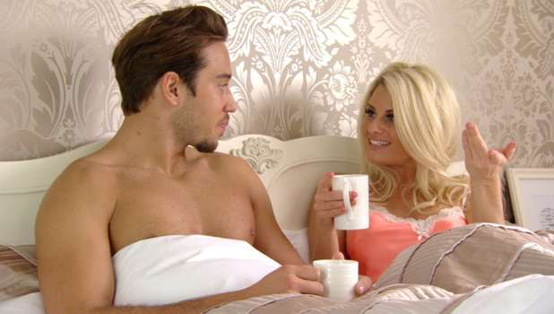Danielle Armstrong forgives James Lock in TOWIE, Sunday 16 March 2014
