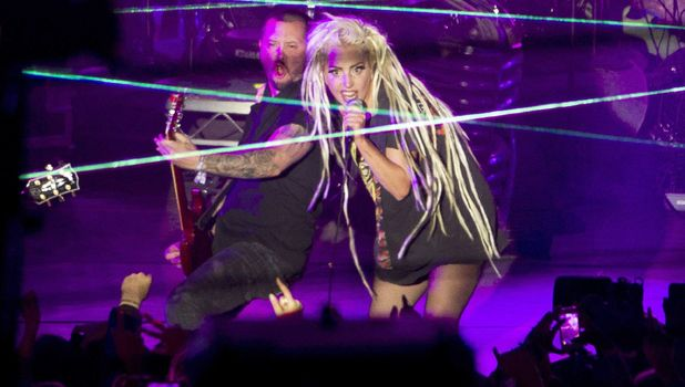 Lady Gaga performs at South by Southwest festival (SXSW), Austin, Texas, America - 13 Mar 2014
