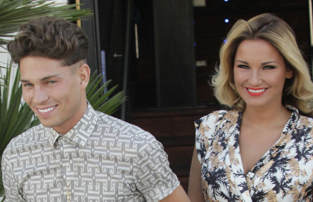 TOWIE's Sam Faiers and Joey Essex in Spain. 05/24/2013