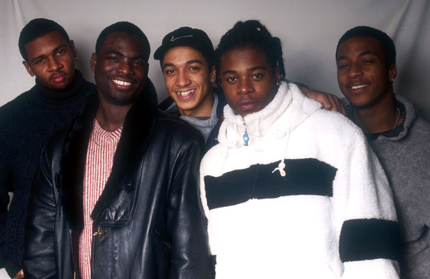 Damage - Jade Jones, Rahsaan J Bromfield, Andrez Harriott, Noel Simpson and Coreé Richards - in London, Britain - 1996