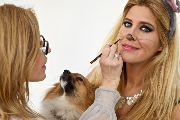 Cheska Hull gets a mouse makeover for the RSPCA's Makeover the World campaign - 10 March 2014