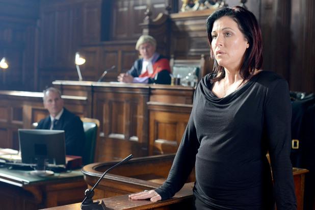 EastEnders, Kat in court, Tue 18 Mar