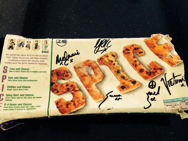 Victoria Beckham's mum finds SPICE Spice Girls pizza in the freezer: 12 March 2014