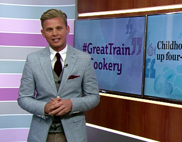 Jeff Brazier on This Morning's The Hub (June 2013).