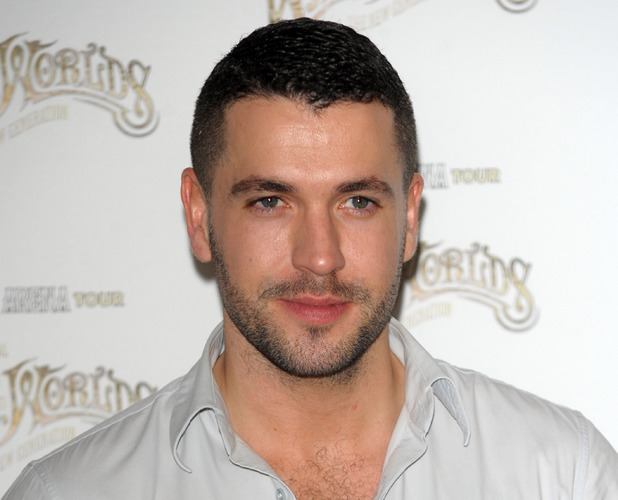 Shayne Ward at the 'War of the Worlds' photocall at the Hospital Club