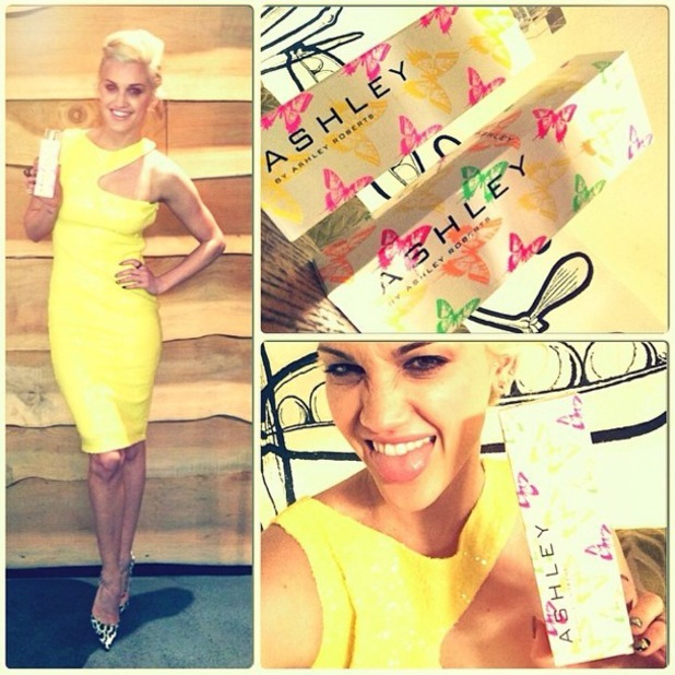 Ashley Roberts launches her debut fragrance Ashley by Ashley Roberts at The Folly in London - 12 March 2014