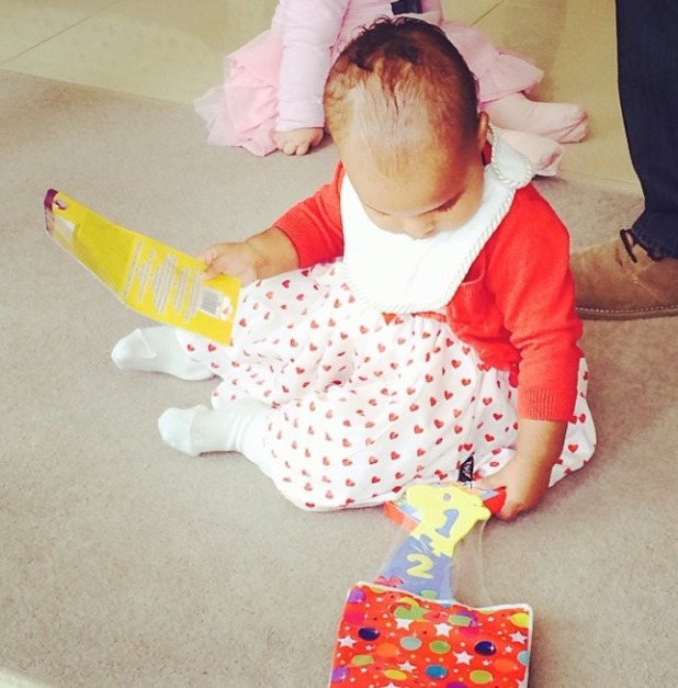 Rochelle Humes shares picture of daughter Alaia - March 8