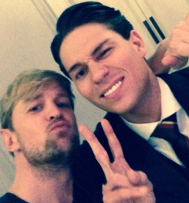 Kian Egan and Joey Essex at the TRIC Awards - 11 March 2014