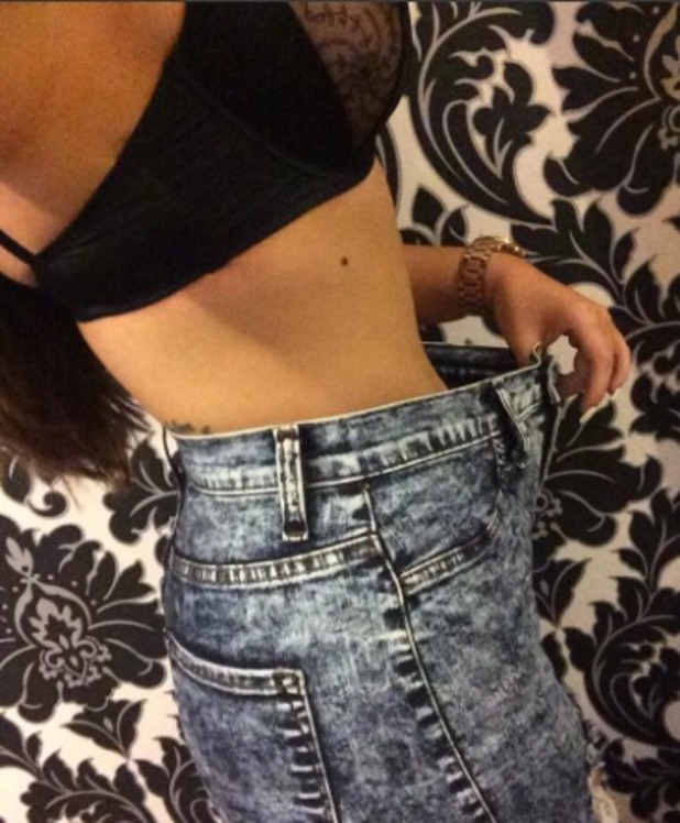 Holly Hagan shares weight loss picture