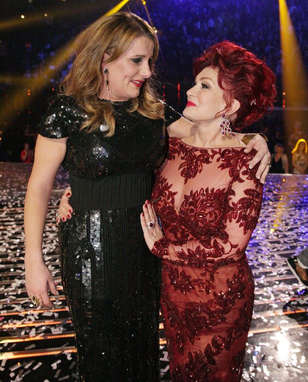 'The X Factor' final TV show, Wembley Arena, London, Britain - 15 Dec 2013 Sam Bailey celebrates her victory with Sharon Osbourne