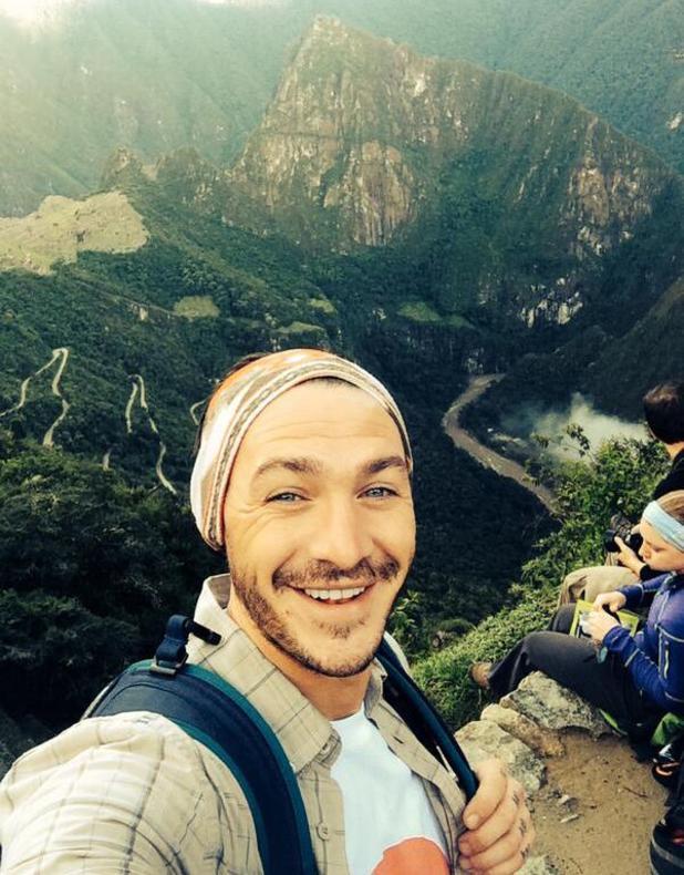 Kirk Norcross completes his Sport Relief trek in Peru - 11 March 2014