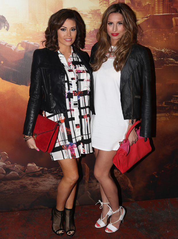 Jessica Wright and Ferne McCann at Titanfall UK Launch Party at the Boiler House in the Old Truman Brewery. 13 March 2014