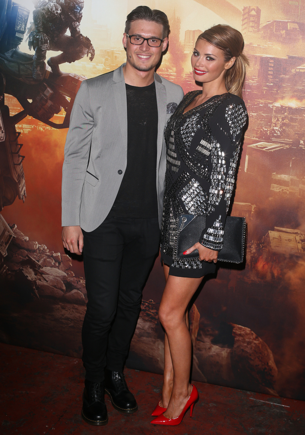 Chloe Sims and Charlie Sims at the Titanfall UK Launch Party at the Boiler House in the Old Truman Brewery. London (13 March).