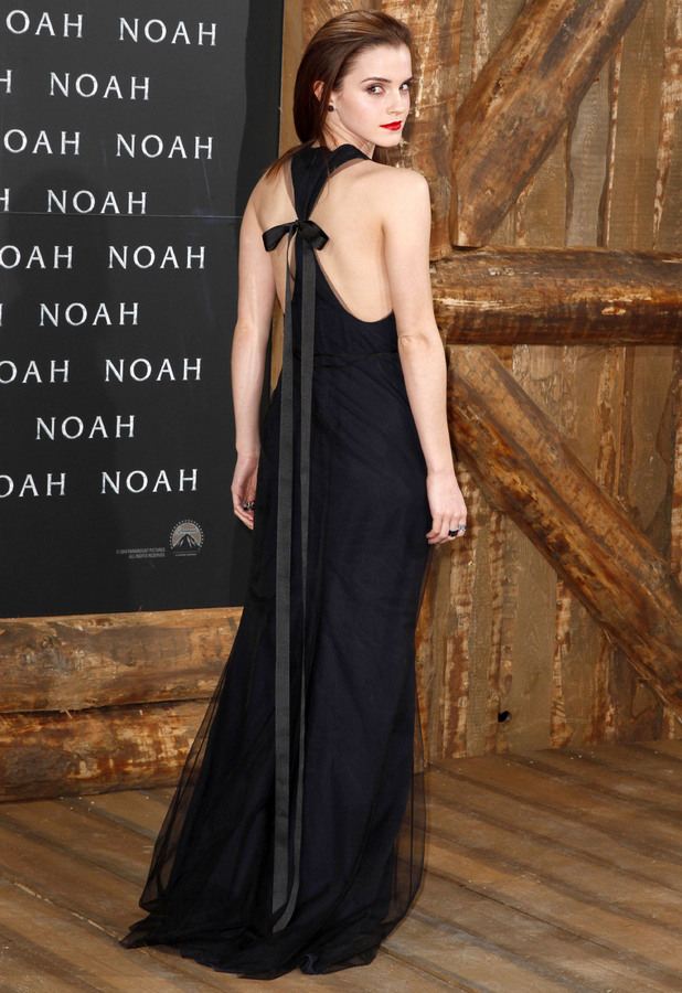 Emma Watson steps out at the premiere of Noah in Berlin, Germany - 13 March 2014