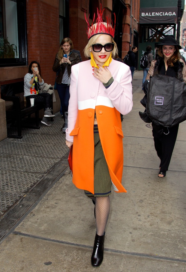 Rita Ora out in Soho, New York - 12 March 2014