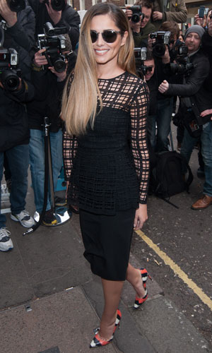 Cheryl Cole announces her return to X Factor at the Arts Club, 11 March 2014