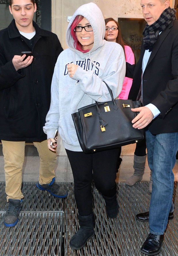 Demi Lovato out and about, New York, America - 10 Mar 2014