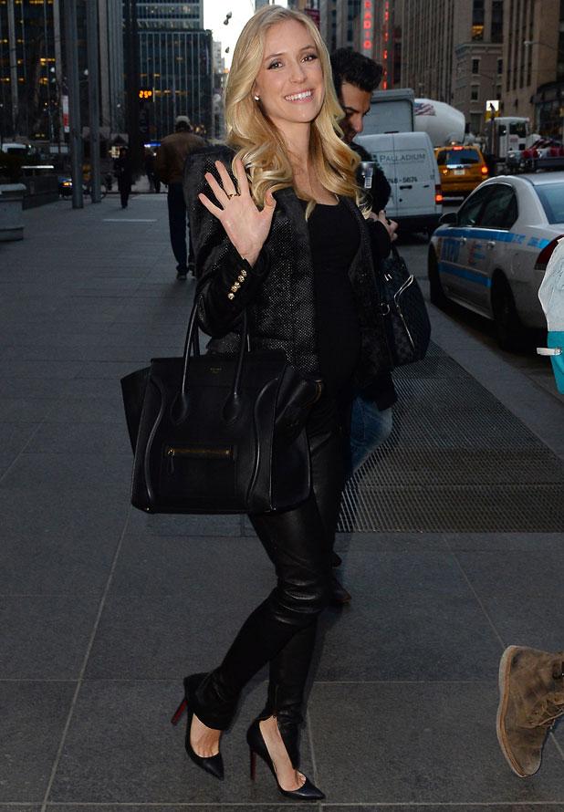 Kristin Cavallari arrives to film 'Fox and Friends' TV show, New York, America - 14 Mar 2014