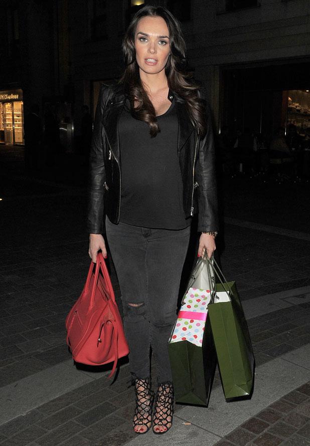 Tamara Ecclestone enjoys a shopping spree at Harrods in Knightsbridge, 13 March 2014