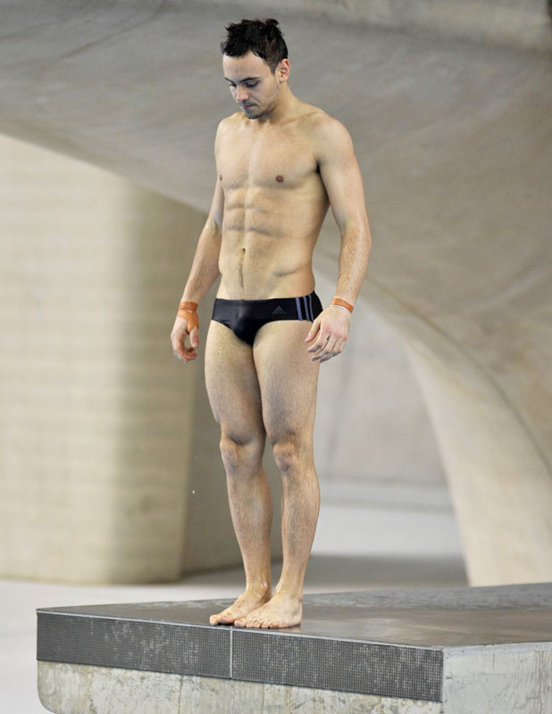 Tom Daley, London Aquatics Centre opens to the general public, Queen Elizabeth Olympic Park, Britain - 25 Feb 2014