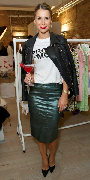 Vogue McFadden attends the launch of the Very.co.uk spring/summer '14 range in Soho, London - 19 March 2014