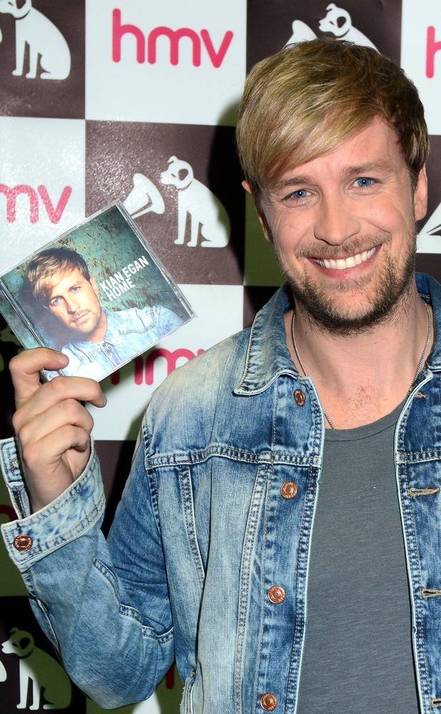 Kian Egan album Home HMV