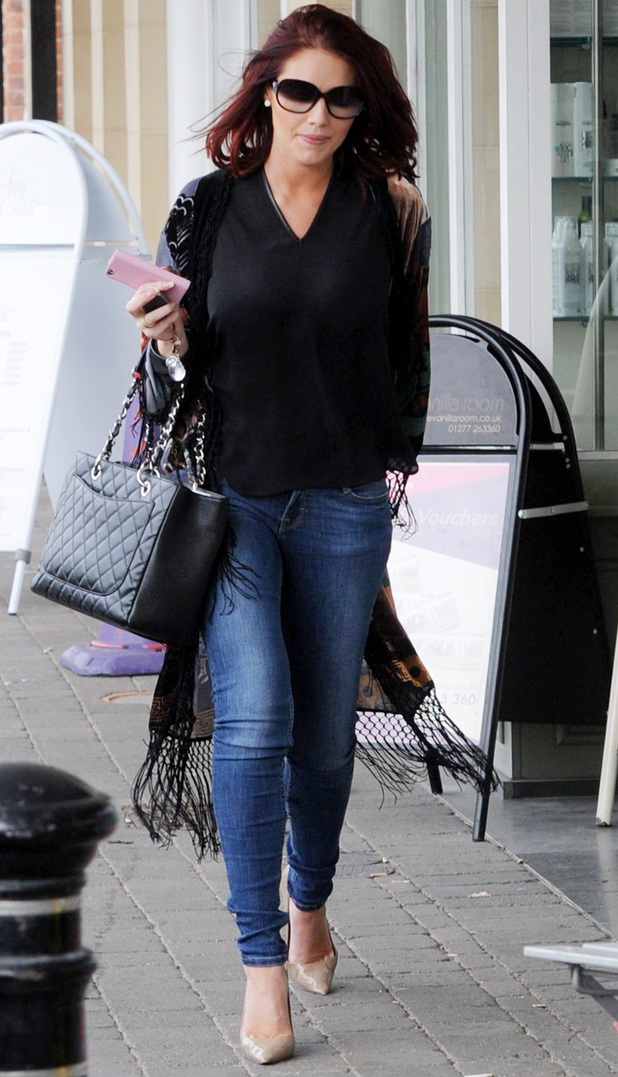 Amy Childs in Brentwood, 20 March