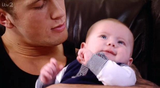 Dan Osborne's baby son Teddy makes his debut on TOWIE (9 March).