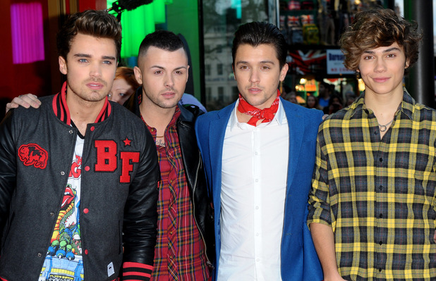 Union J host a party to launch their collaboration with chocolate brand M&M's - 03/06/2014 - London, United Kingdom