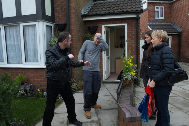 Corrie, Kevin punches Tim, Fri 21 Mar