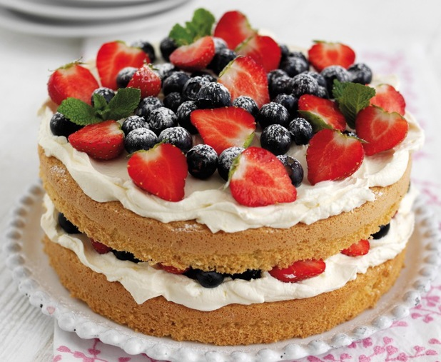 Best Mother S Day Recipes Berry Cake With Vanilla