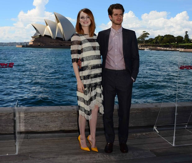 Andrew garfield dating gossip girl