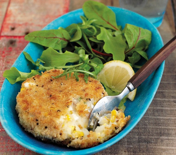Make fab tuna and sweetcorn fishcakes from leftovers for How to make tuna fish with eggs