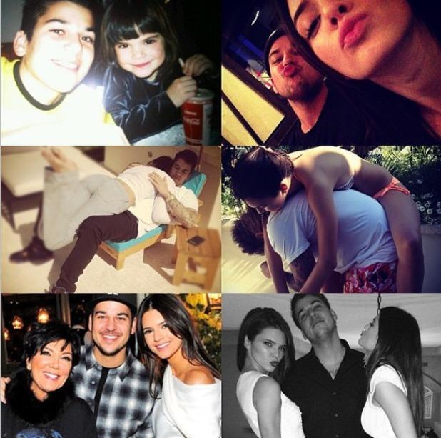 Kendall Jenner wishes Rob Kardashian happy birthday, March 17