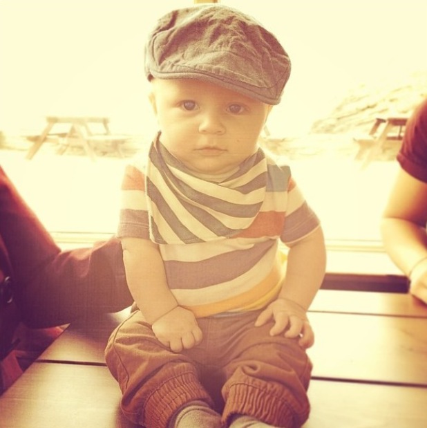 Union J's JJ Hamblett's son Princeton J. Alexander (15 March).