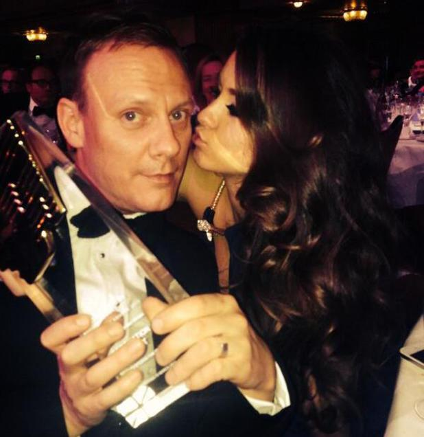 Brooke Vincent and Antony Cotton at RTS Programme Awards 2014 held at Grosvenor House Hotel - 19 March 2014