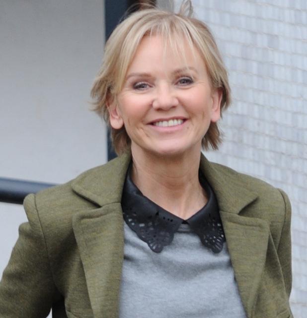 Lisa Maxwell. Celebrities leaving ITV studios after appearing on 'Loose Women 12 Dec 2013
