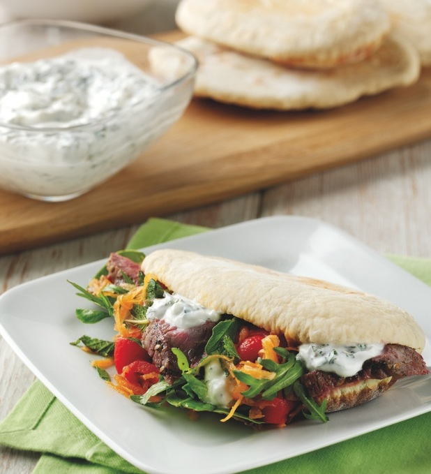 Spicy lamb flatbreads