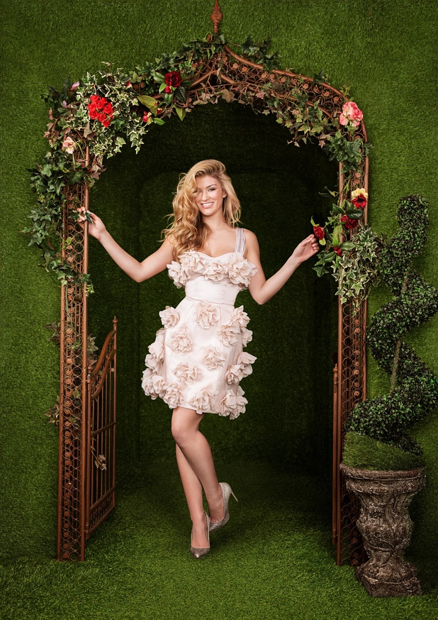Amy Willerton launches My Mate Your Date for Macmillan Cancer Support - 18 March 2014