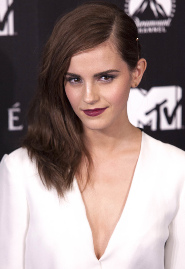 Emma Watson at the premiere of Noah in Madrid, Spain - 17 March 2014