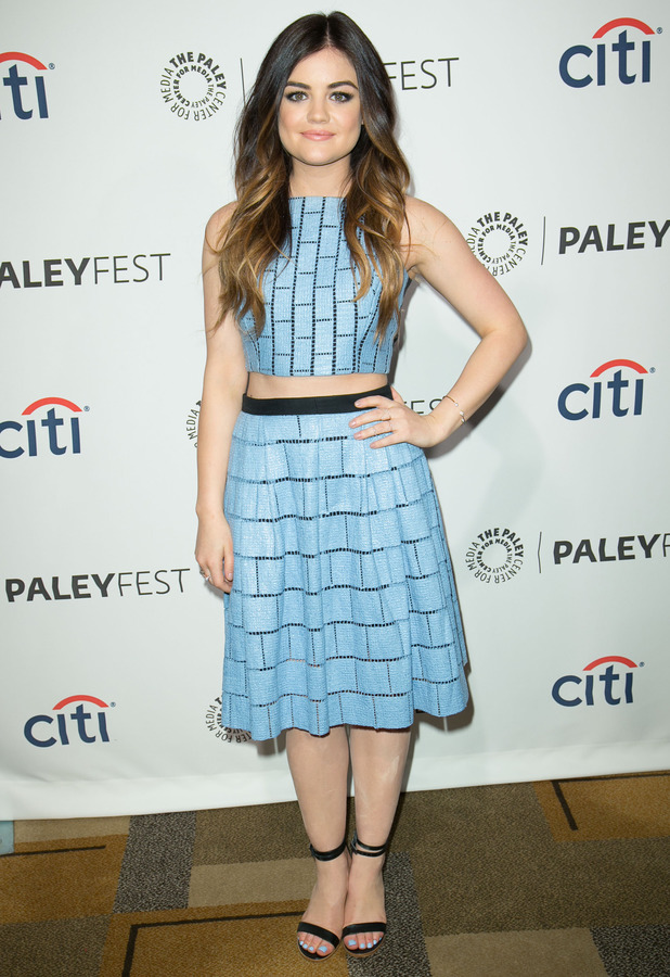 Lucy Hale at PaleyFest 2014 in Los Angeles - 16 March 2014