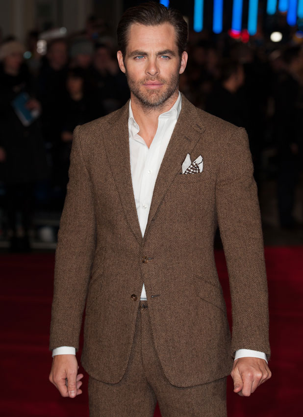 Chris Pine, European premiere of 'Jack Ryan: Shadow Recruit' held at the Vue Leicester Square - Arrivals, 20 January 2014